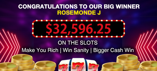 Big casino win at best online casino