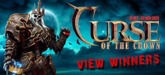 Curse of the Crown promo - Now Live - at Lionslots online casino