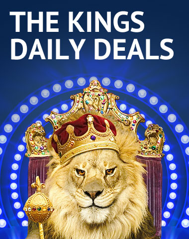 Daily casino deals at Lionslots