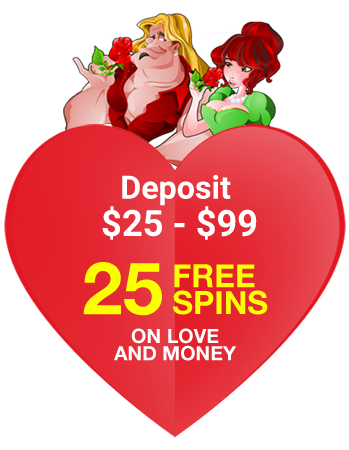 25 Free Spins on Swinging Sweethearts