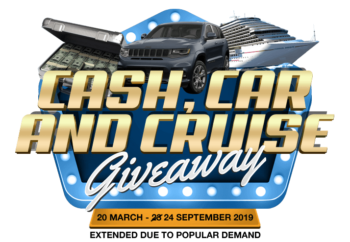 car cash and cruise giveaway