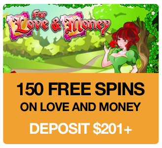 150 Free Spins on Love and Money